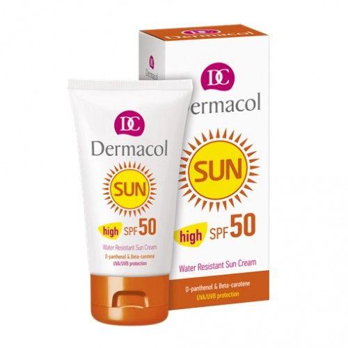 Dermacol Voděodolný ochranný pleťový krém Sun SPF 50 50 ml