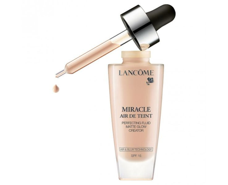Lancome Tekutý make-up Miracle Air de Teint SPF 15 (Perfecting Fluid Matte Glow Creator) 30 ml (Odstín 01 Be