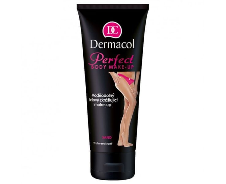 Dermacol Voděodolný zkrášlující tělový make-up (Perfect Body Make-up) 100 ml (Odstín Caramel)
