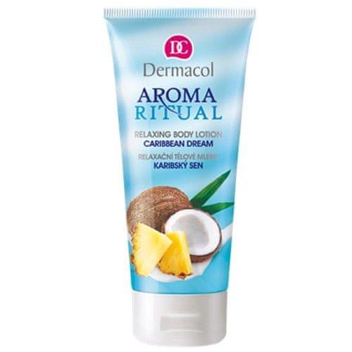 Dermacol Relaxační tělové mléko Karibský Sen 200 ml