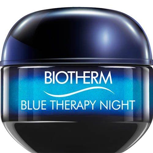 Biotherm Noční protivráskový krém pro všechny typy pleti (Blue Therapy Night) 50 ml