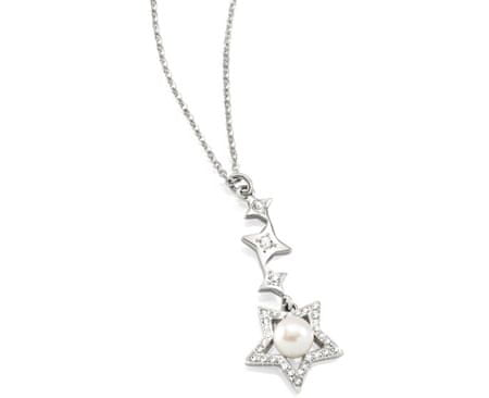 Morellato Oceľový náhrdelník Luci SACR02