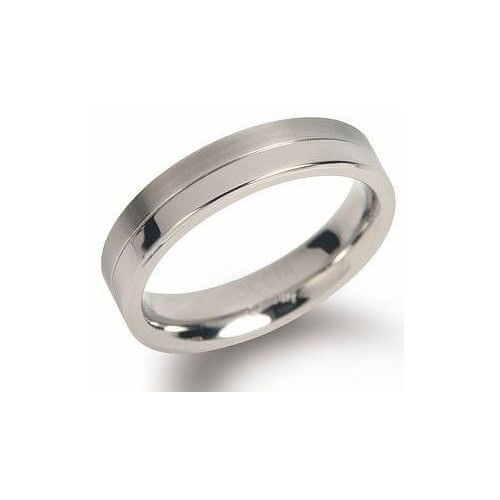 Boccia Titanium Snubní titanový prsten 0129-01 (Obvod 54 mm)