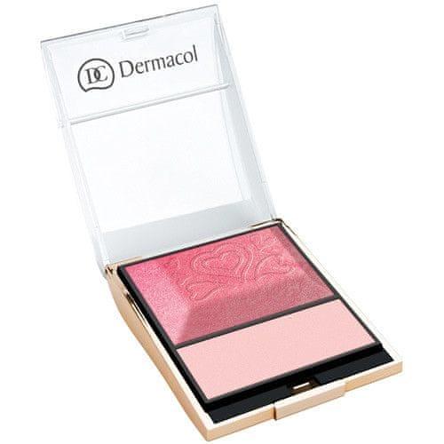 Dermacol Tvářenka s rozjasňovačem Blush & Illuminator 8,5 g (Odstín č.6)