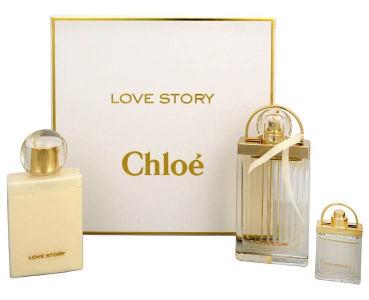 Chloé Love Story - EDP 75 ml + tělové mléko 100 ml + miniatura EDP 7,5 ml