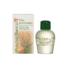 Frais Monde Parfémovaný olej Bílý mošus (White Musk Perfumed Oil) 12 ml
