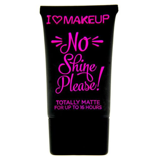 Makeup Revolution Matující make-up I LOVE MAKEUP (No Shine Please) 30 ml (Odstín NS02 Bílá čokoláda)