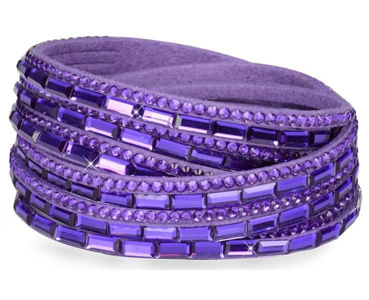Troli Náramek Wrap 6x Double Violet