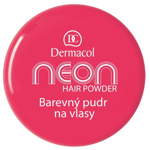 Dermacol Barevný pudr na vlasy Neon 2,2 g (Odstín č.7 zlatá)