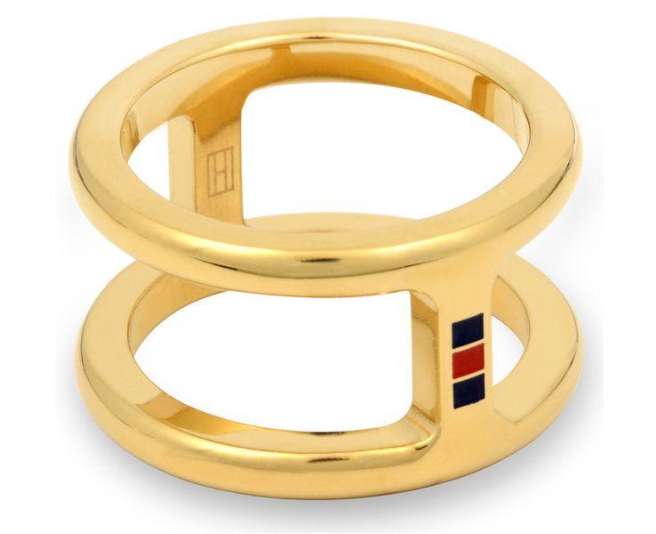 Tommy Hilfiger Originální prsten z oceli TH2700522 (Obvod 56 mm)