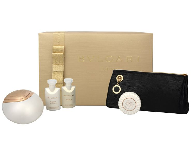 Bvlgari Aqva Divina - EDT 65 ml + tělové mléko 40 ml + sprchový gel 40 ml + mýdlo 50 g + kosmetická taška pro ženy