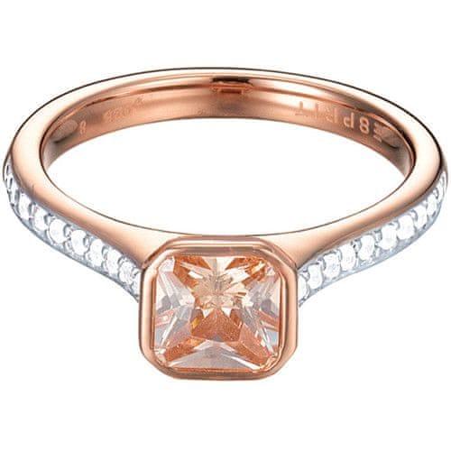 Esprit Bronzový prsten Brilliance ESPRIT-JW50016 Rose (Obvod 57 mm)