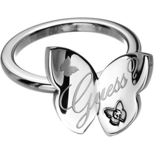 Guess Fashion prsten s motýlem USR11103 (Obvod 52 mm)