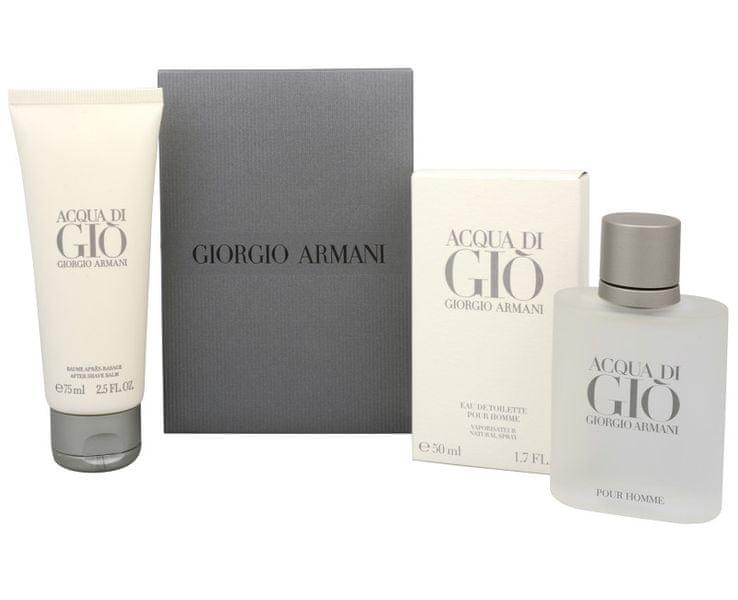 Giorgio Armani Acqua Di Gio Pour Homme - EDT 50 ml + balzám po holení 75 ml