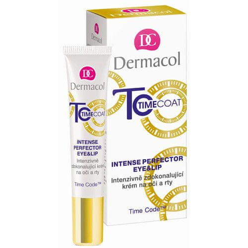 Dermacol Intenzivně zdokonalující krém na oči a rty Time Coat (Intense Perfector Eye & Lip) 15 ml