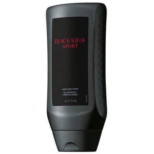 Avon Sprchový gel na tělo a vlasy pro muže Black Suede Sport (Hair&Body Wash Gel) 250 ml