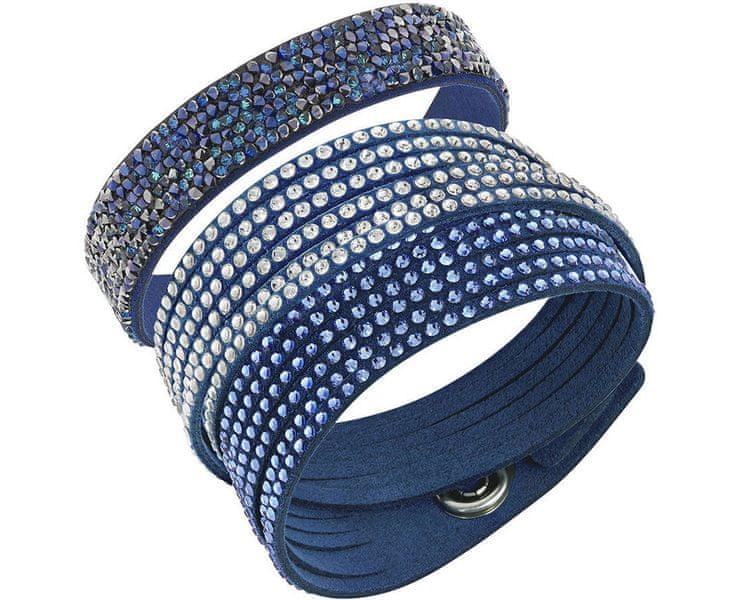 Swarovski Sada modrých náramků Leisure 5184507