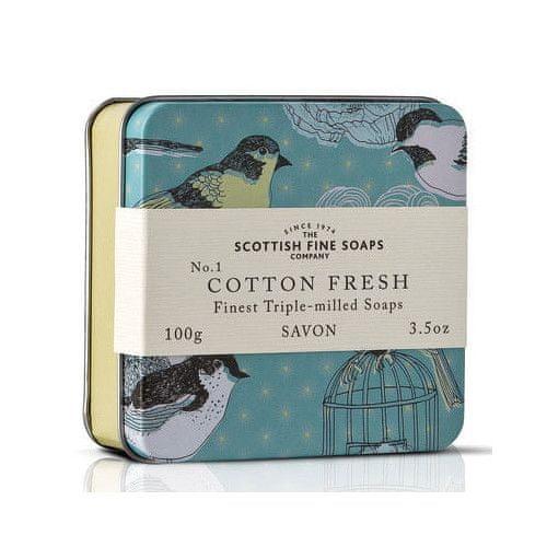 Scottish Fine Soap Mýdlo v plechu Bavlna 100 g