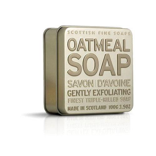 Scottish Fine Soap Mýdlo v plechu Oves 100 g