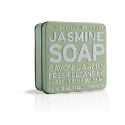 Scottish Fine Soap Mýdlo v plechu Jasmín 100 g