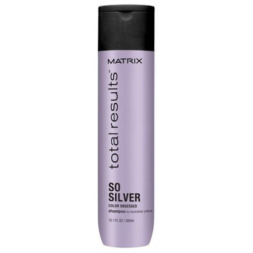 Matrix Šampon pro neutralizaci žlutých tónů Total Results So Silver (Color Obsessed Shampoo to Neutralize Y