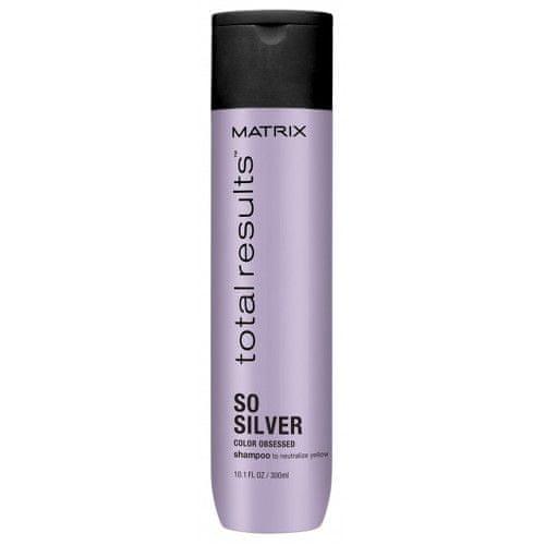 Matrix Šampon pro neutralizaci žlutých tónů Total Results So Silver (Color Obsessed Shampoo to Neutralize Y