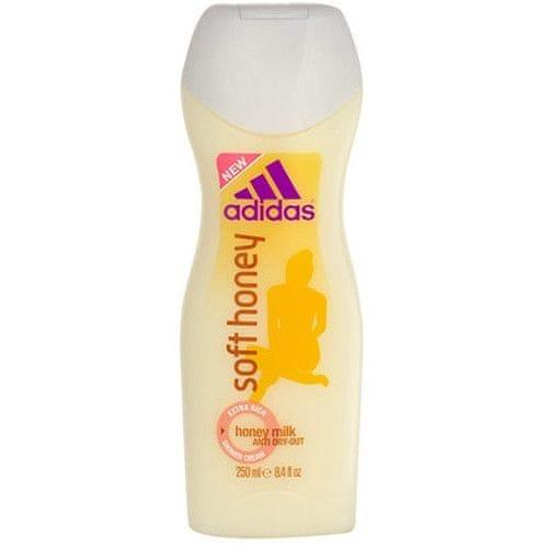 Adidas Krémový sprchový gel Soft Honey 250 ml
