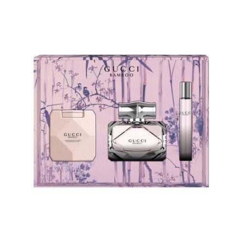 Gucci Bamboo - EDP 75 ml + tělové mléko 100 ml + roll-on 7,4 ml