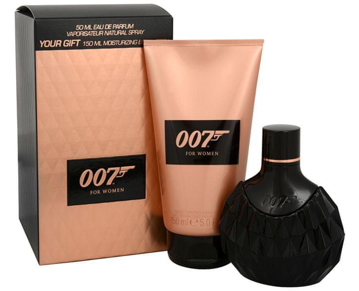 James Bond 007 Woman - EDP 50 ml + tělové mléko 150 ml