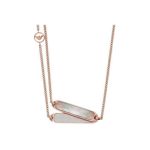 Emporio Armani Luxusní jemný náhrdelník EGS2097221