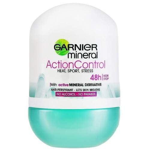 Garnier Minerální deodorant Action Control Roll-on 48h pro ženy 50 ml