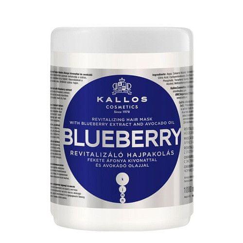 Kallos Revitalizační maska s výtažkem z borůvek (Blueberry Hair Mask) (Objem 275 ml)