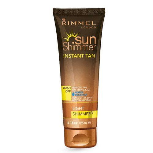 Rimmel Třpytivý voděodolný samoopalovací krém SunShimmer (Instant Tan Water Resistant Shimmer) 125 ml (Odst