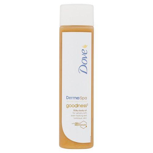 Dove Tělový olej Derma Spa Goodness³ (Silky Body Oil) 150 ml