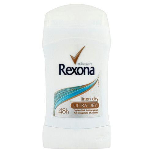 Rexona Tuhý deodorant Linen Dry 40 ml