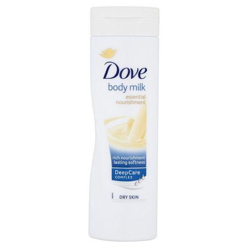 Dove Vyživující tělové mléko Essential Nourishment (Body Milk) (Objem 400 ml)