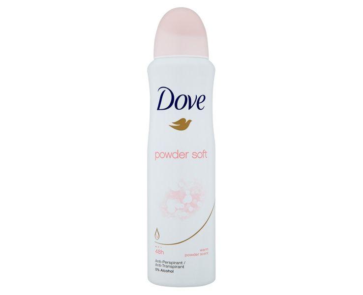 Dove Antiperspirant ve spreji Powder Soft 150 ml