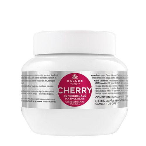 Kallos Jemná hydratační maska na vlasy s třešní a vitamíny (Conditioning Cherry Hair Mask) (Objem 1000 ml)