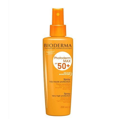 Bioderma Sprej pro citlivou pleť SPF 50+ Photoderm MAX (Spray Very Hight Protection) (Objem 200 ml)