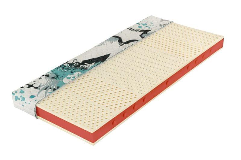 Tropico Šárka Top v potahu Relaxtic (bílá) - 120x200 cm