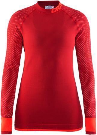 Craft majica Warm Intensity, rdeča, L
