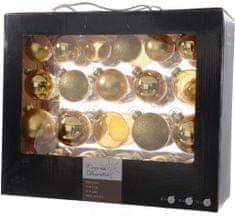Kaemingk Božični okraski bunke 42 kosov, zlata
