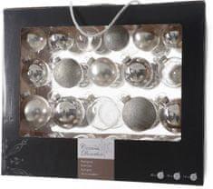 Kaemingk Božični okraski bunke 42 kosov, srebrna