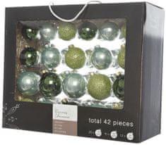 Kaemingk Božični okraski bunke 42 kosov, zelena