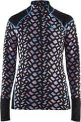 Craft bluza termoaktywna Nordic Wool Twisted Zip