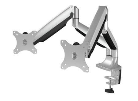 """IcyBox nosilec IB-MS504-T za 2 monitorja do velikosti 81 cm (32"""")"""