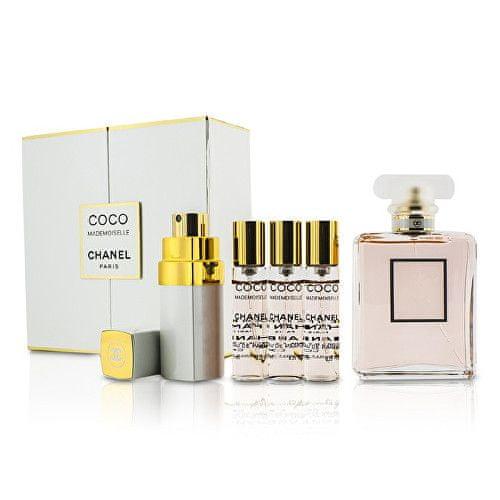 Chanel Coco Mademoiselle - EDP 50 ml + cestovní sprej 4 x 7,5 ml