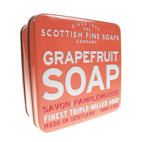 Scottish Fine Soap Mýdlo v plechu Grapefruit 100 g