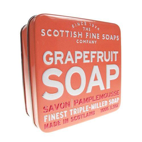 Scottish Fine Soap Mýdlo v plechu Grapefruit 100 g