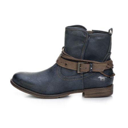 Mustang dámská kotníčková obuv 39 tmavo modrá
